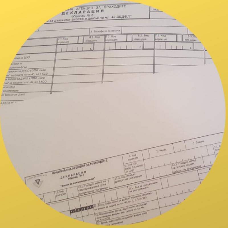 Нова Наредба № Н-13 от 17 декември 2019 г.  за съдържанието, сроковете, начина и реда за подаване и съхранение на данни от работодателите, осигурителите за осигурените при тях лица, както и от самоосигуряващите се лица.