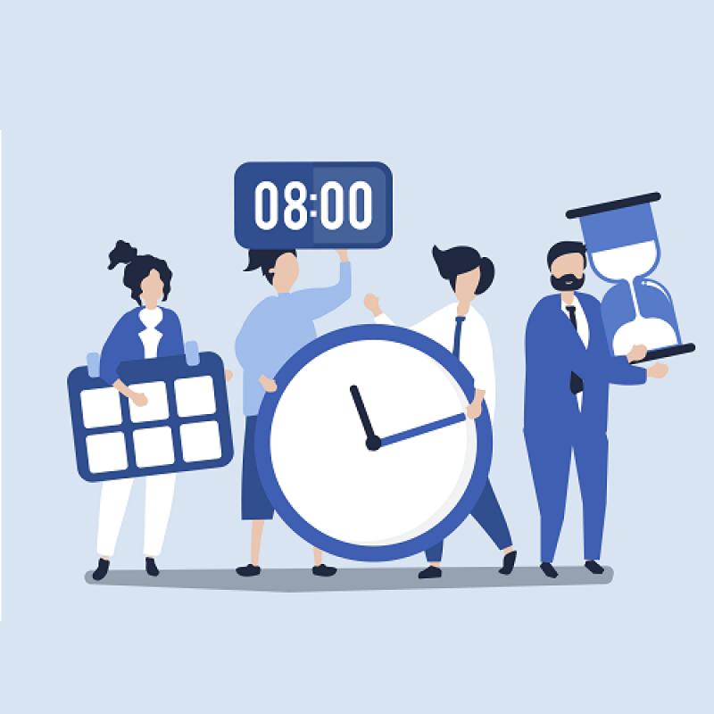 Време за хранене и продължителност на работния ден при непрекъсваем процес на работа