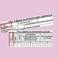 Корекция на подадени данни със Справки по чл. 73 ал. 1 и 6 от ЗДДФЛ